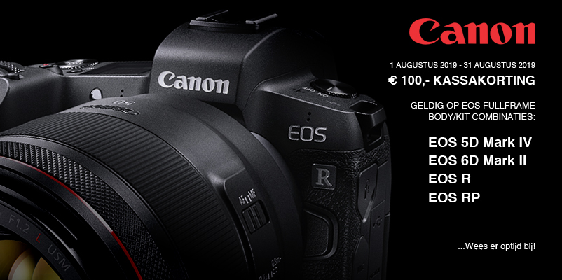 Kassakorting op Canon EOS Full-Frame!
